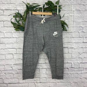 Women's Nike Gray Capri Jogger Pants
